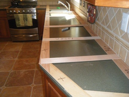 Elite design procedure for Template for granite countertops